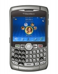 BlackBerry Curve 8320 Wi-Fi phone